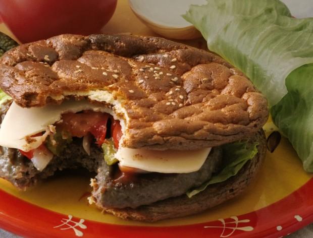 LCHF Ooopsie Burger