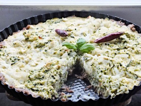 Low Carb Zucchini Quiche