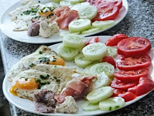 Low Carb Frühstücksidee