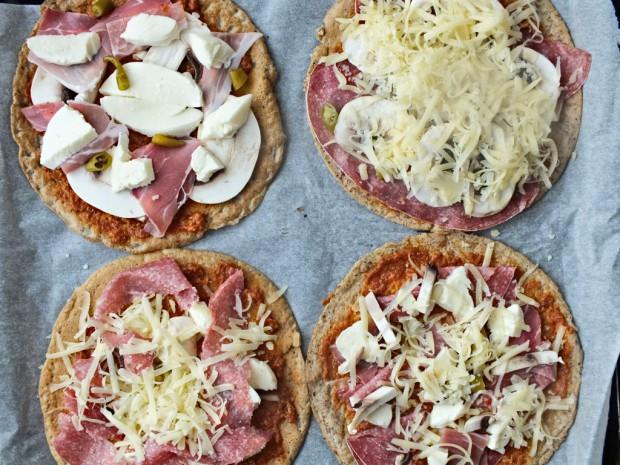 Glutenfreie Pizza Varianten