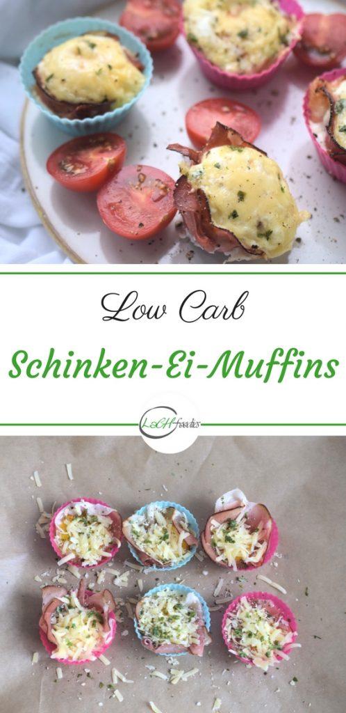 Schnelle Schinken-Ei-Muffins Low Carb Frühstück Rezept