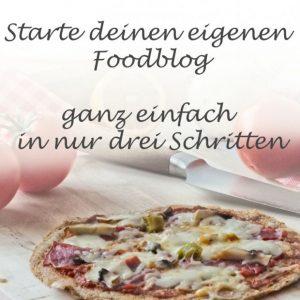 Starte deinen eigenen Foodblog