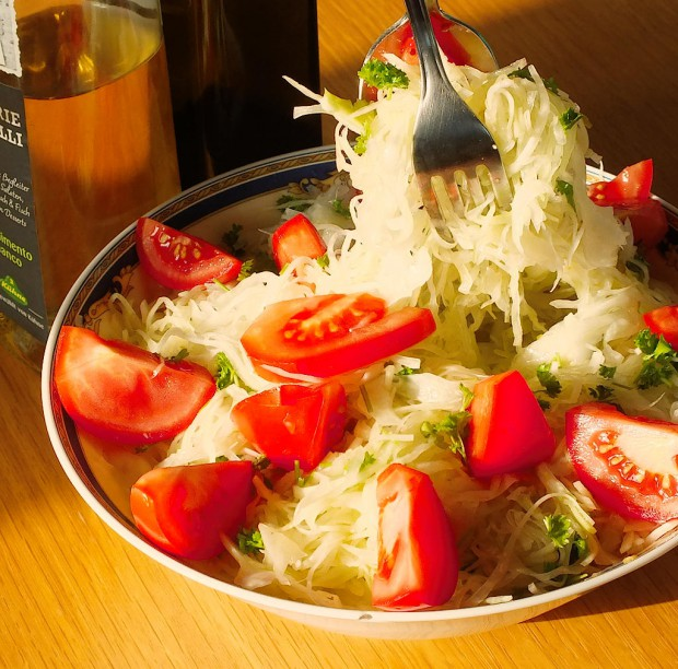 leckerer Weißkohlsalat
