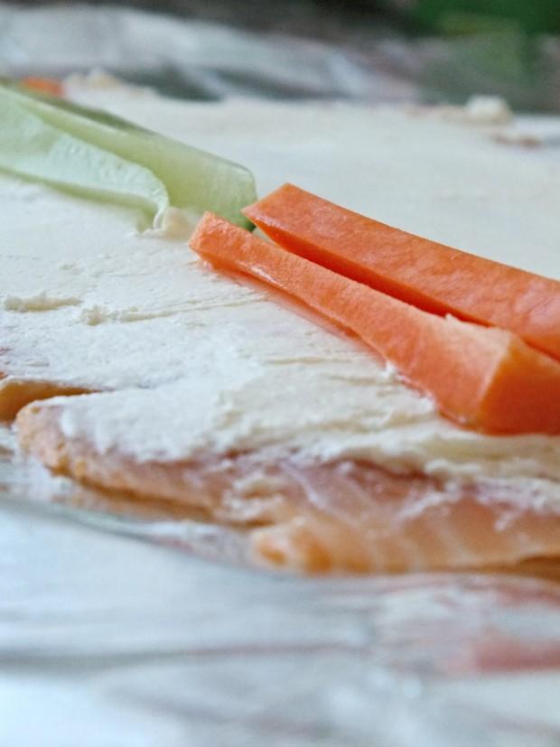 Low Carb Sushi Vorbereitung