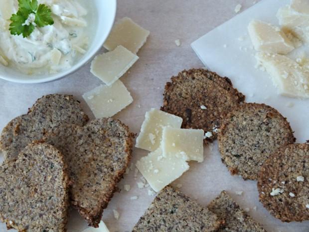 Scharfe Low Carb Cracker Backblog München Glutenfrei