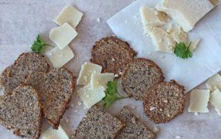 Scharfe Low Carb Cracker