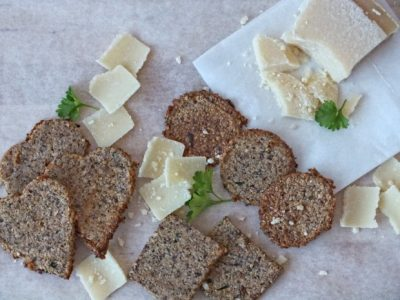 Scharfe Low Carb Cracker