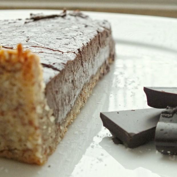 Schokolade im Kuchen = lecker!