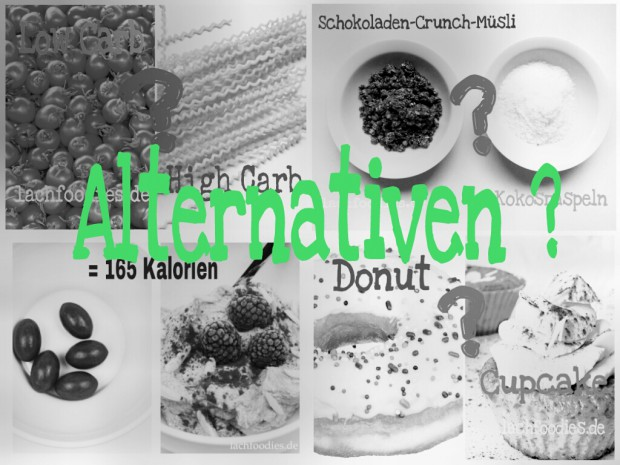 Low Carb Alternativen