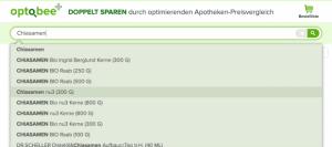 Apotheken Preisvergleich Optobee.de