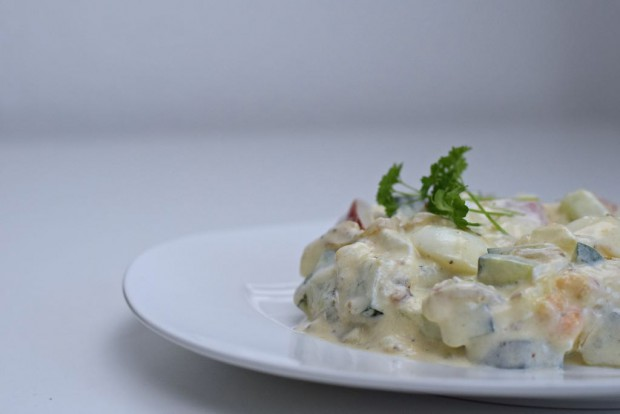 Ein schneller und sättigender Salat
