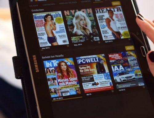 Die Zeitschriftenflatrate Readly | Gewinnspiel | Ad