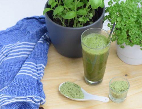 Grünteepulver, Gerstengras & Co. Grüne Wundermittel aus der Natur