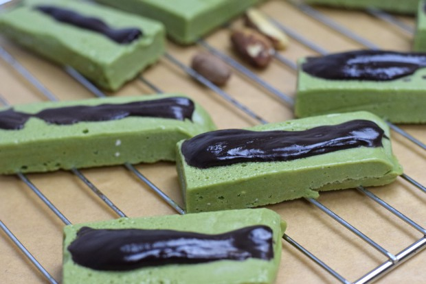 Matcha Low Carb Proteinriegel