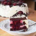 Low Carb Sahne-Kirsch-Torte
