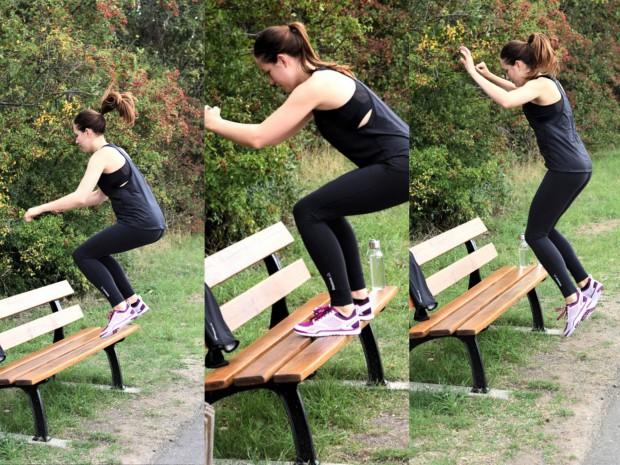 Workout beim Laufen