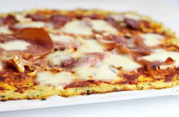 Blumenkohl-Pizzateig
