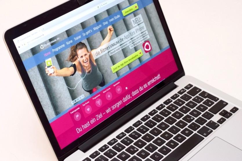 Fitnessraumde review test erfahrung online fitnessstudio fitnessprogramm