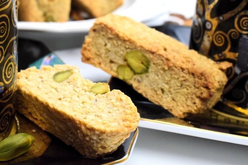 Low Carb Cantuccini Pistazien Kekse Rezept ohne Kohlenhydrate Backblog München
