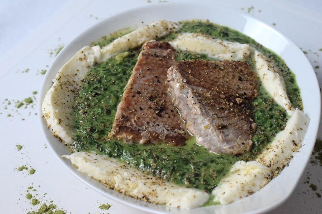 Verrücktes Thunfisch-Spinat-Rezept