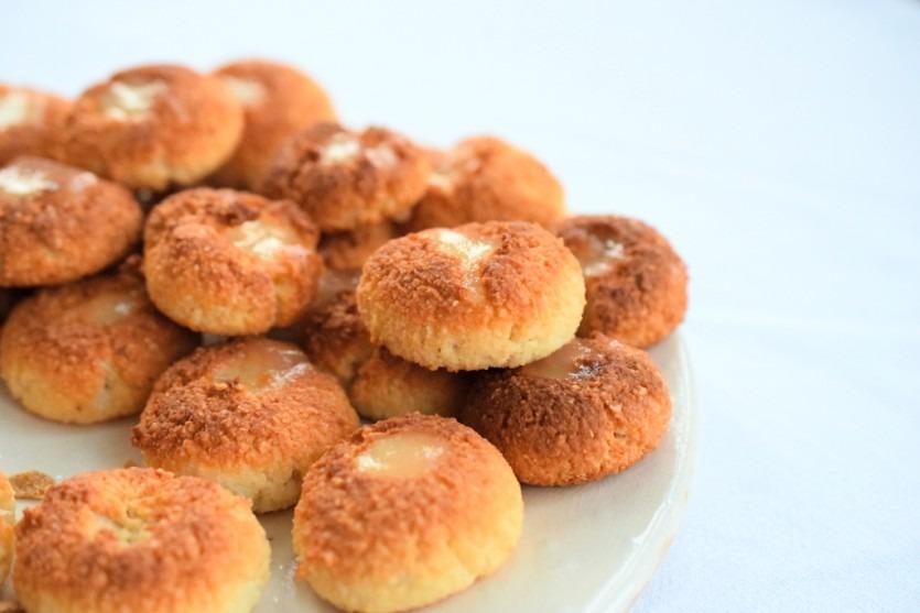 Low Carb Zitronenplätzchen ohne Zucker kohlenhydratfrei Rezept Backblog Glutenfrei