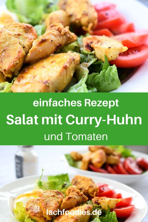 Schneller Chicken-Curry-Salat