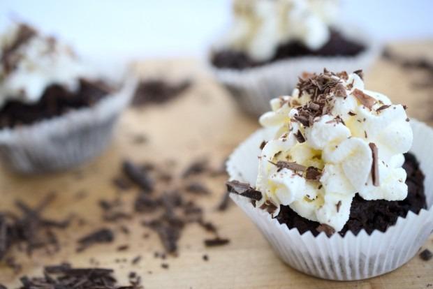 Schnelle Low Carb Schokoladen Muffins