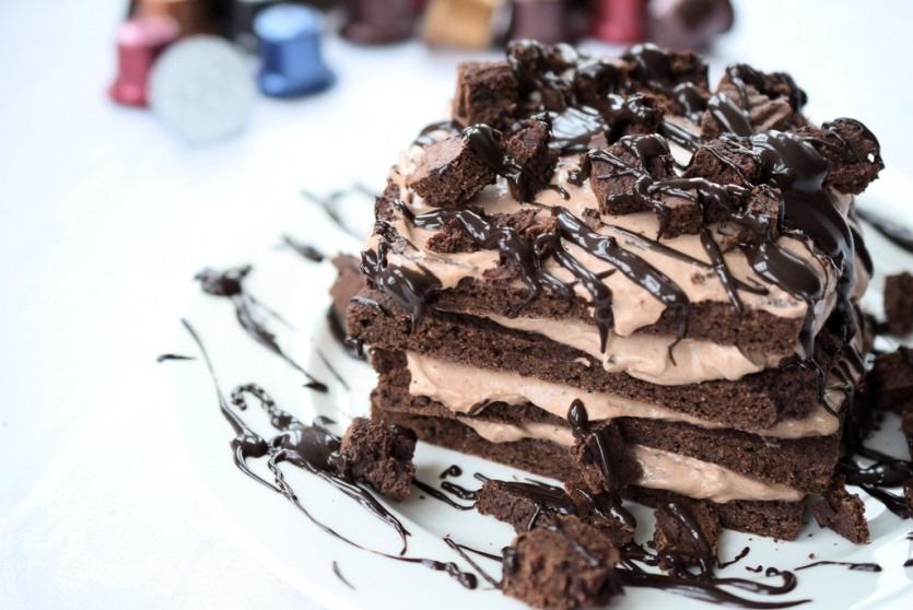 Low Carb Tiramisu-Torte   Low Carb Blog Foodblogger Muenchen