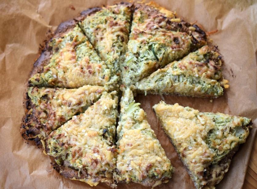 Raffinierter Gemüsekuchen – Low Carb