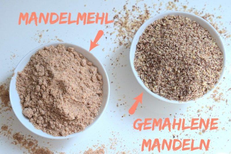 Der Unterschied zwischen gemahlenen Mandeln und Mandelmehl Low Carb Blog Deutschland Foodblogger