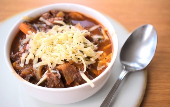 Low Carb Minestrone