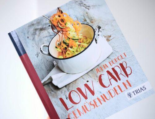 Low Carb Gemüsenudeln | Neues Kochbuch + Gewinnspiel