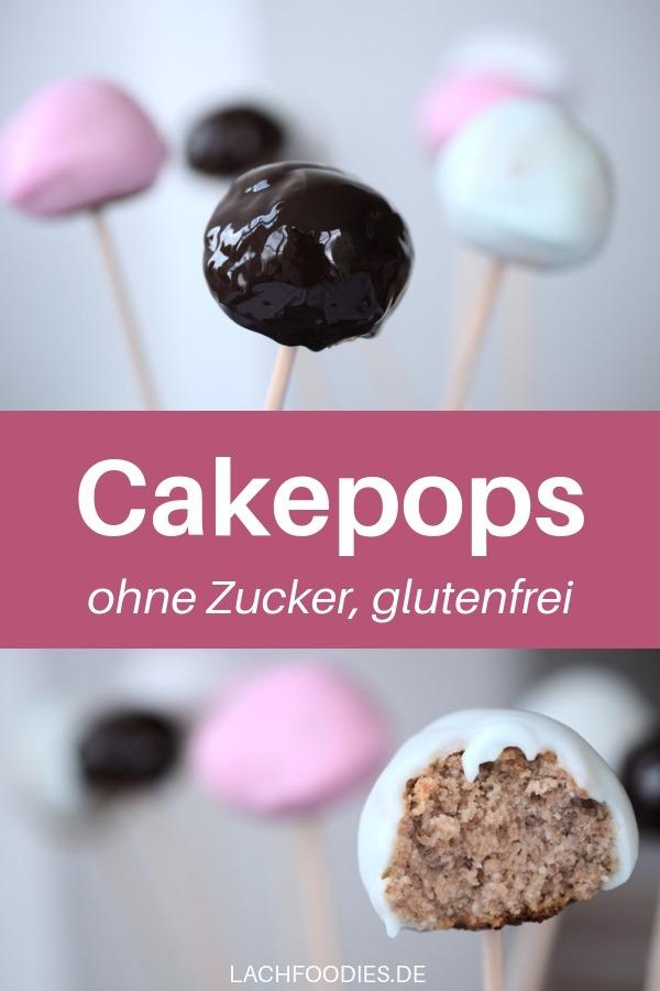 Hast du das schon einmal probiert? Cakepops ohne Zucker. Das ist ein ganz einfaches Rezept für Cakepops ohne Cakepopmaker. Die Low Carb Glasur ist ohne Zucker und besteht maßgeblich aus Erythrit in Puderform (Puderxucker). Viel Spaß beim Backen! #lowcarbbacken #glutenfrei #lachfoodies #gesunderezepte