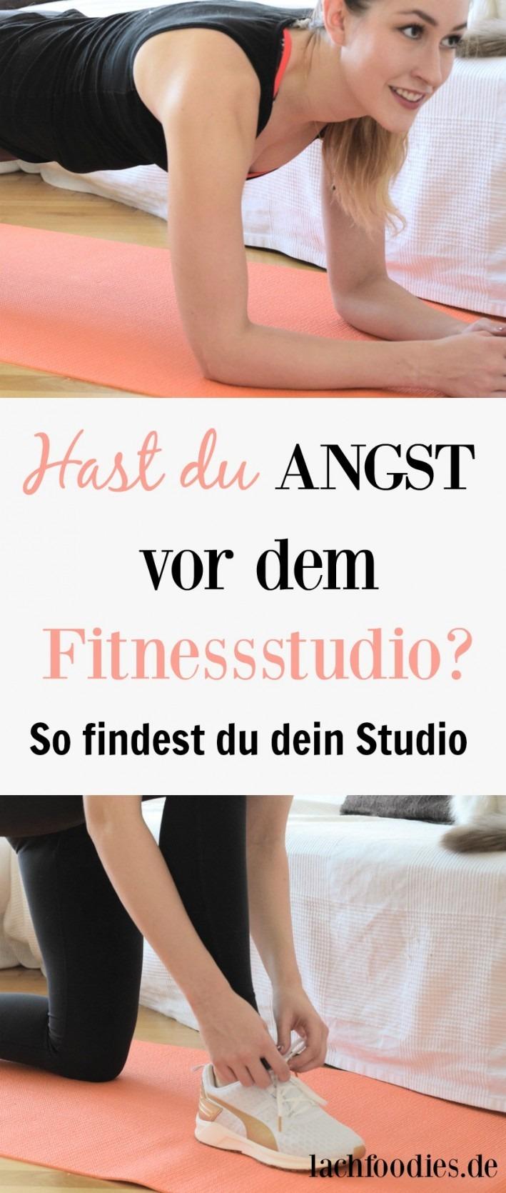 Angst vor dem Fitnessstudio Vorurteile Findest du dein Studio Fitnessblog Trainingsplan