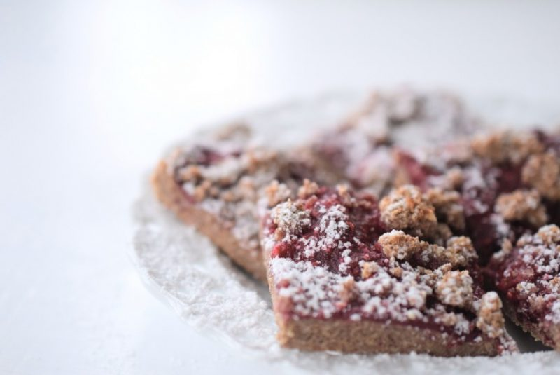 Low Carb Streuselkuchen mit Himbeer-Marmelade Foodblog ohne Kohlenhydrate Zuckerfrei