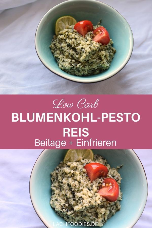 Anzeige | Blumenkohl-Pesto-Reis zum Einfrieren mit Bauknecht