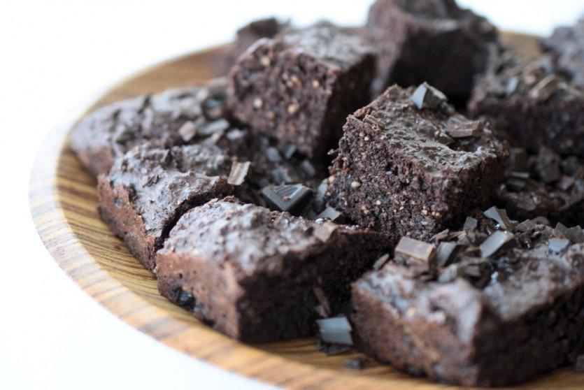 Köstliche Low Carb Brownies (glutenfrei, zuckerfrei) Backblog gesund Rezept