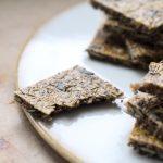 Rezept Low Carb Knäckebrot mit Rosmarin ohne Kohlenhydrate