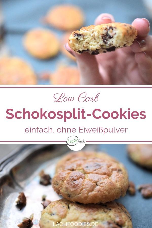 Weiche Schoko-Cookies (ohne Zucker, Glutenfrei)