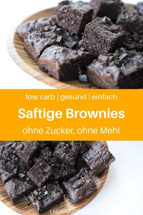 Hast du Lust auf Low Carb Brownies? Dann habe ich hier etwas für dich: Ein gesundes Rezept für Low Carb Brownies einfach, ohne Spezialzutaten. Dieses süße Low Carb Rezept ist eines unserer beliebtesten Rezepte auf Lachfoodies.de. Es ist einfach, schnell zubereitet und schmeckt unglaublich lecker. Backen ohne Zucker, ohne Mehl, ist gar nicht so kompliziert, wie man denken würde. Lass es dir schmecken! #lachfoodies #lowcarbrezept #zuckerfrei #fitgesundundglücklich #brownies