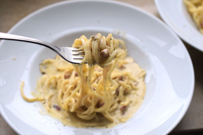 Low Carb Spaghetti Carbonara