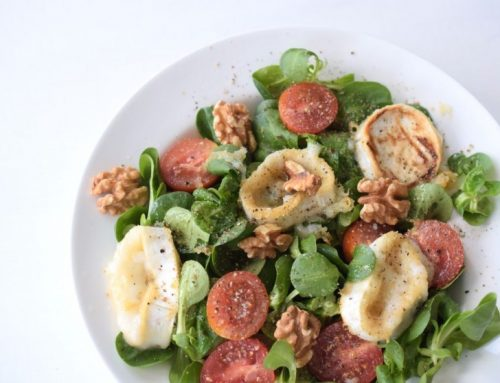 LOW CARB – Zart Schmelzender Ziegenkäse-Salat