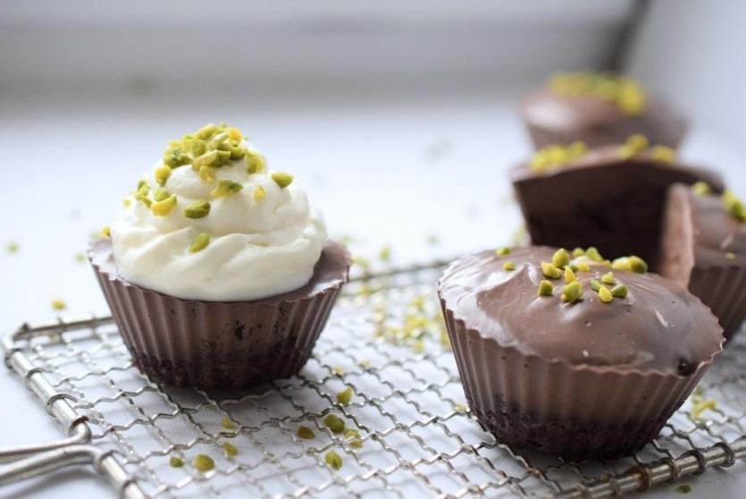 schoko muffins ohne zucker lachfoodies fit gesund und gl cklich. Black Bedroom Furniture Sets. Home Design Ideas