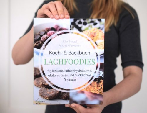NEU: Lachfoodies Koch- und Backbuch + Bonus