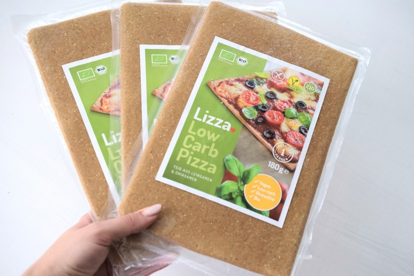 Lizza: Low Carb Pizza Quattro Stagioni