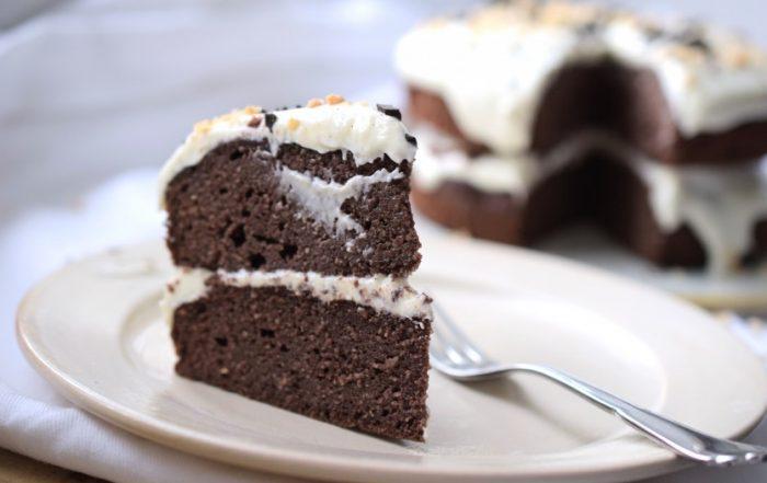 Saftige Schokoladentorte ohne Mehl (Low Carb) Rezept