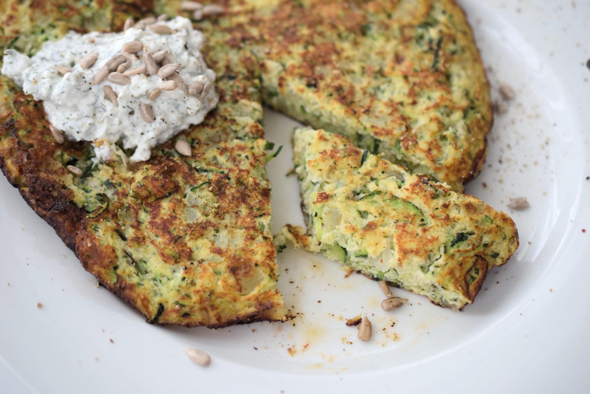 Dein Low Carb Mittagessen Zucchini Rösti Lachfoodies