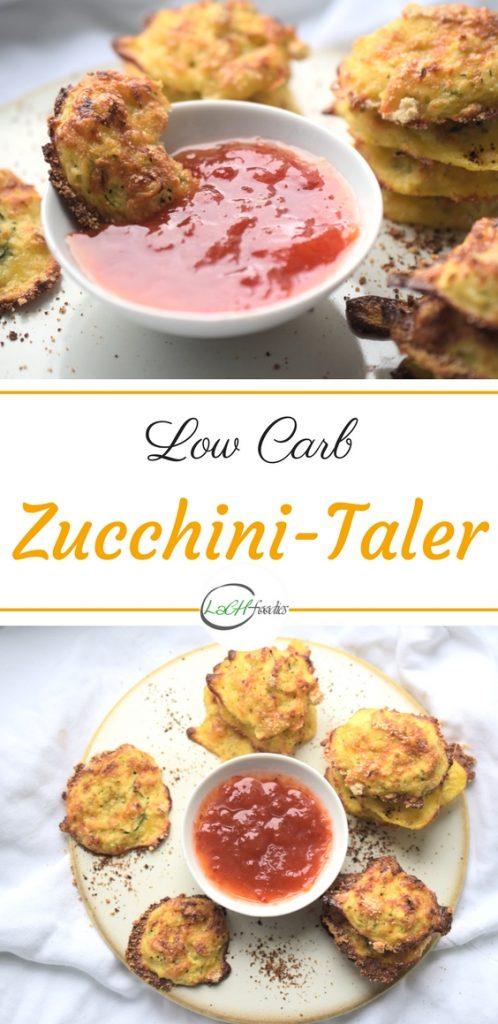 Dein Low Carb Snack für das Büro: Zucchini-Taler Rezept Snack ohne Kohlenhydrate Foodblog Backblog