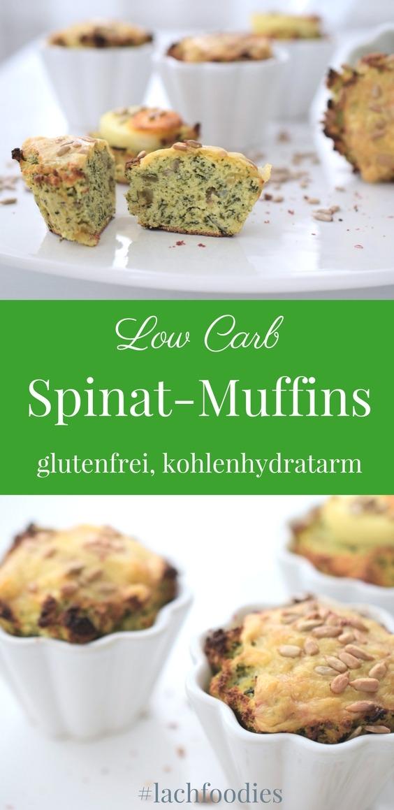 herbstliche spinat muffins low carb lachfoodies k stliche low carb rezepte. Black Bedroom Furniture Sets. Home Design Ideas