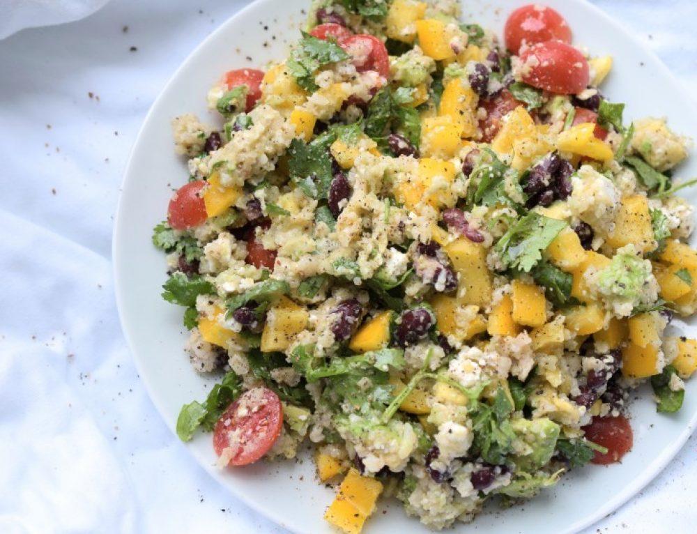 Himmlisch frischer Blumenkohl-Avocado-Salat